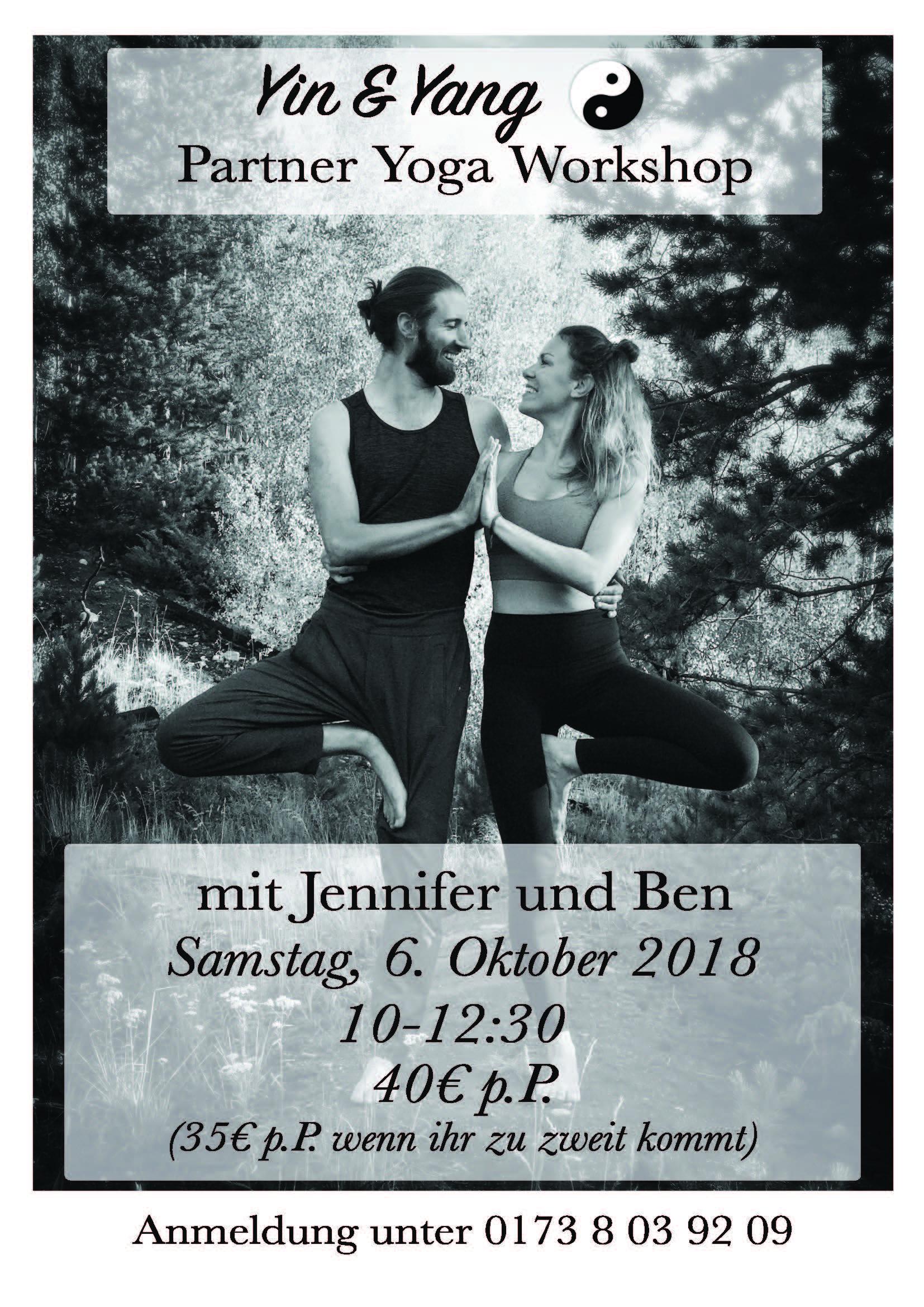 Yin Yang Partner Yoga Workshop